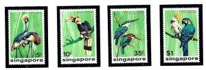 Singapore 236-39 MNH 1975 Birds