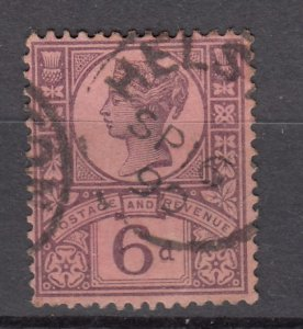 J27534 1887-92 great britain used #119 queen