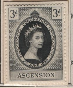 ASCENSION, 61, MNH, 1953, Coronation issue