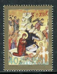 184 - MACEDONIA 2014 - Christmas - MNH Set