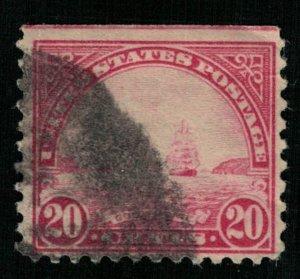 1923, Golden Gate, 20 cents, USA (T-6880)