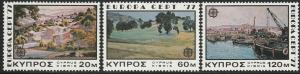 Cyprus, #475-477 Unused From 1974