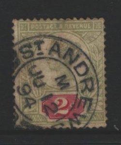 Great Britain Sc#113 Used