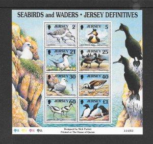 BIRDS - JERSEY #832a  SEABIRDS  MNH