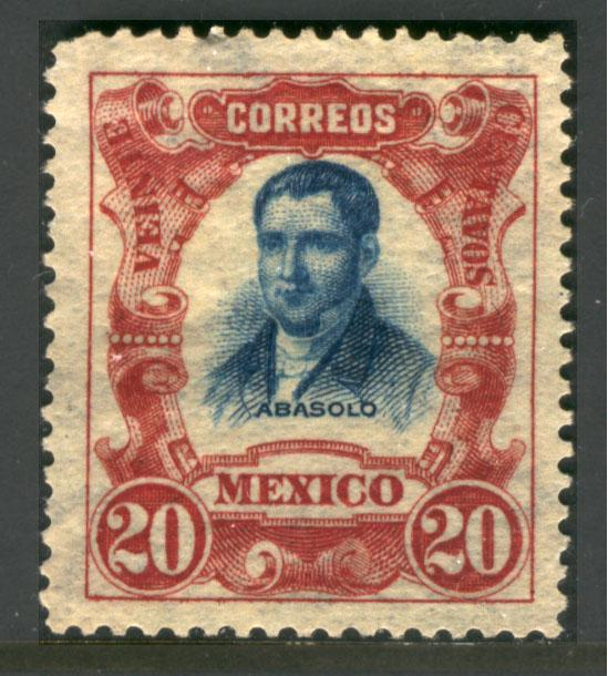 MEXICO 317 20cs INDEPENDENCE CENTENNIAL 1910 COMMEM UNUSED NG.