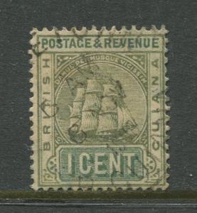 STAMP STATION PERTH British Guiana #131A - Seal Definitive Used Wmk 2 CV$6.00