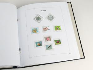DAVO Luxe Hingless Album Switzerland I 1845-1944