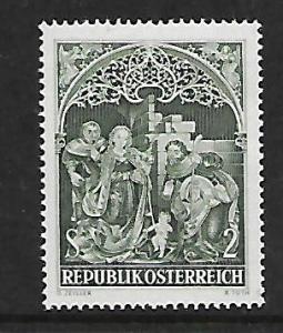 AUSTRIA, 806, MNH, NATIVITY FROM 15TH CENTURY ALTAR