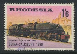 Rhodesia   SG 433  SC# 269   Used Steam Trains see details