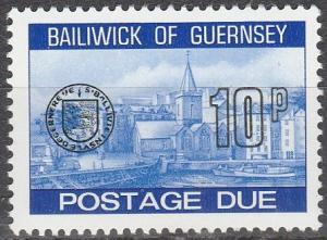 Guernsey #J26  MNH   (S9408)