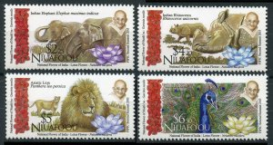 2016 Niuafo'ou 603-606 Animals in India 23,00 €