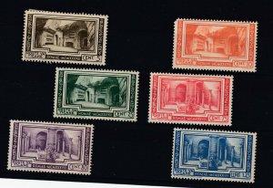 Vatican City 1938 Archaeology Set SG63/68 MH JK2273