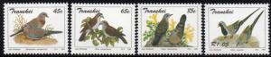 Transkei - 1993 Doves Set MNH** SG 309-312
