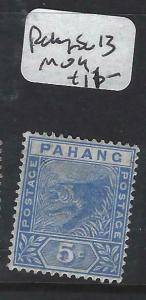 MALAYA PAHANG   (P0906B)  TIGER 5C  SG 13  MOG