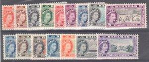Bahamas Sc#158-173 Mint LH VF, Cv. $86.20