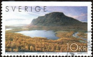 Sweden 2479a - Used - 10k Europa / Landscape (2004) (cv $2.75)