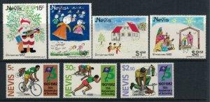 Nevis #156-62* NH  CV $3.55
