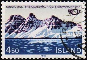 Iceland. 1983 4k50 S.G.626 Fine Used