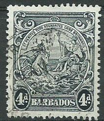 Barbados SG 253 Fine Used perf 13 1/2