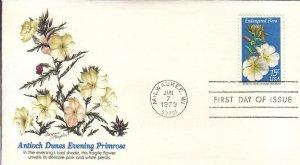 1979, Endangered Flora-Antioch Dunes Evening Primrose, Fleetwood, FDC (E7999)