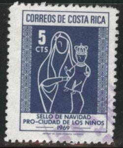 Costa Rica Scott RA41 used 1969 Postal Tax Stamp