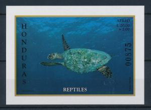 [41295] Honduras 1998 Reptiles Turtle MNH Sheet