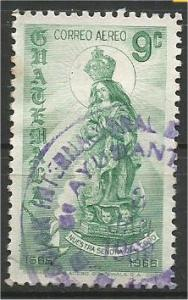 GUATEMALA, 1968, used 9c, Our Lady Scott C405