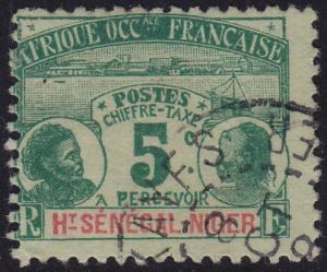 Upper Senegal & Niger - 1906 - Scott #J1 - used