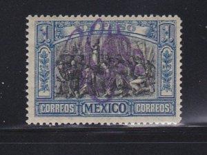 Mexico 378 MH Overprint