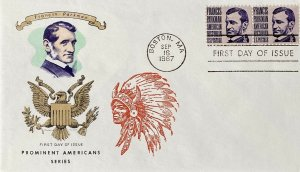 Overseas Mailer 1281 Francis Parkman Indian Chief
