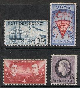 ROSS DEPENDENCY 1957 SHACKLETON & SCOTT
