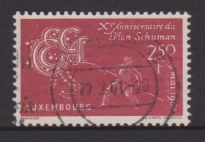 Luxembourg Sc#359 Used