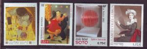 J20375  jlstamps 2002 france set mnh #2869-72 art