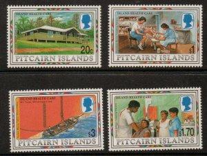 PITCAIRN ISLANDS SG512/5 1997 ISLAND HEALTH CARE MNH