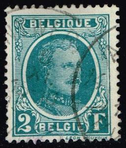 Belgium #188 King Albert I; Used (0.45)