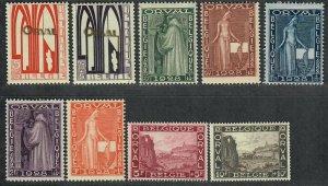 $Belgium Sc#B69-77 M/H/VF, complete set, Cv. $84.45
