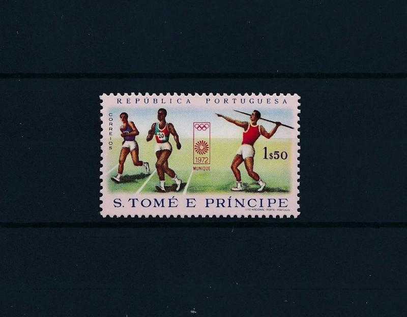 [61136] Sao Tome & Principe 1972 Olympic games Munich Athletics MNH