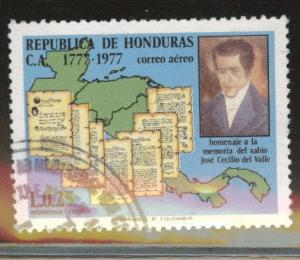 Honduras  Scott C624 used airmail