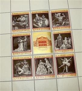100 Jahre  Austria Stamp Sheet---MNH