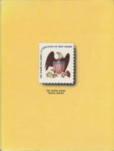 The Americana Series, Issues of 1975-1981, USPS, Hardcover with Stamps, used.