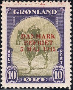 GREENLAND 22a-27a VF MH (22019)