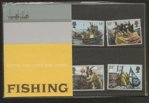 1981 FISHING PRESENTATION PACK 129