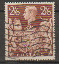 GB George VI  SG 476 Used