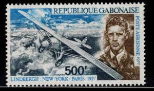 GABON Scott C195 MNH**  Lindbergh airmail stamp