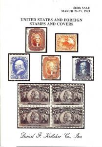 Kelleher: Sale # 560  -  United States and Foreign Stamps...