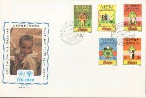ETHIOPIA INTERNATIONAL YEAR OF CHILD FDC R202078