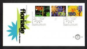 Netherlands 1992  FDC 293 flowers
