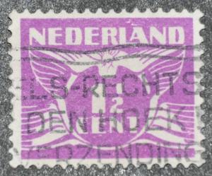 DYNAMITE Stamps: Netherlands Scott #166 – USED