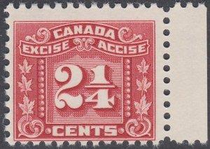 CANADA Revenue : Excise  2¼c FX63 fresh MNH.................................J908