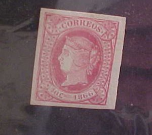 CUBA STAMP #26  MINT LIGHT HINGED cat.$50.00